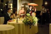2009年結婚式にて