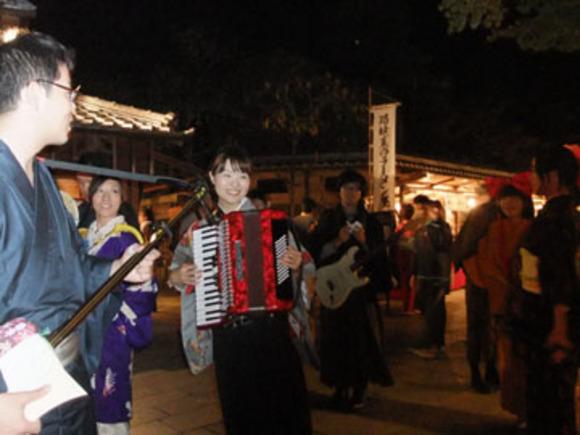 おかげ横丁「きもの日和」+伊勢ヨイ夜ナ(2010.11.6)